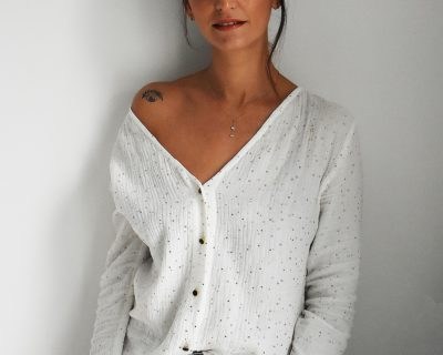 Blouse en gaze coton Like A Virgin